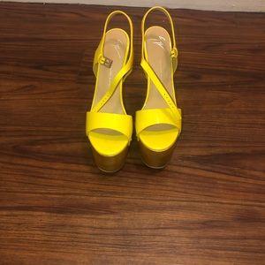 Bright Giuseppe zanotti platform 6 inch heels